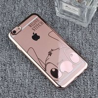 Apple iPhone 6 / iPhone 6S silicone case Transparant