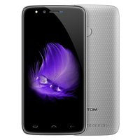 Tweedehands Homtom HT50 5,5 inch Android 7.0 Quad Core 5500mAh 3GB/32GB Zilver