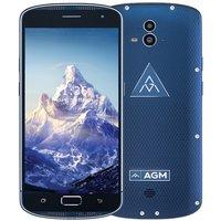 Tweedehands AGM X1 5,5 inch Android 5.1 Octa Core 5400mAh 4GB/64GB Blauw