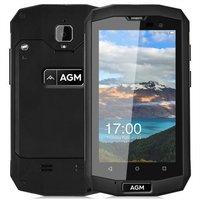 AGM A8 Mini 4 inch Android 5.1 Quad Core 2600mAh 1GB/8GB Zwart