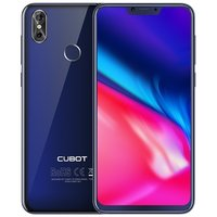 Cubot P20 6,18 inch Android 8.0 Octa Core 4000mAh 4GB/64GB Blauw