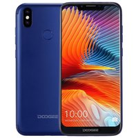 Doogee BL5500 Lite 6,19 inch Android 8.1 Quad Core 5500mAh 2GB/16GB Blauw