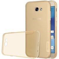 Samsung Galaxy A3 2017 silicone case Goud