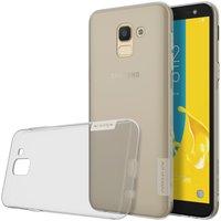 Samsung Galaxy J6 2018 silicone case Grijs