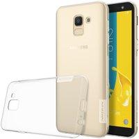 Samsung Galaxy J6 2018 silicone case Transparant