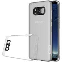 Samsung Galaxy S8 silicone case Transparant