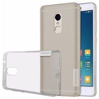 Xiaomi Redmi Note 4 silicone case Grijs