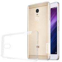 Xiaomi Redmi Note 4X silicone case Transparant