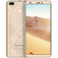 Blackview S6 5,7 inch Android 7.0 Quad Core 4180mAh 2GB/16GB Goud