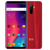 Elephone U 5,99 inch Android 7.1 Octa Core 3620mAh 6GB/128GB Rood
