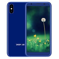 Doogee X55 5,5 inch Android 7.1 Quad Core 2800mAh 1GB/16GB Blauw