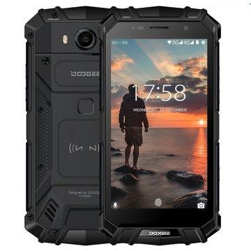 Doogee S60 Lite 5,2 inch Android 7.0 Octa Core 5580mAh 4GB/32GB Zwart