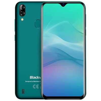 Blackview A60 Pro 6,09 inch Android 9.0 Quad Core 4080mAh 3GB/16GB Groen