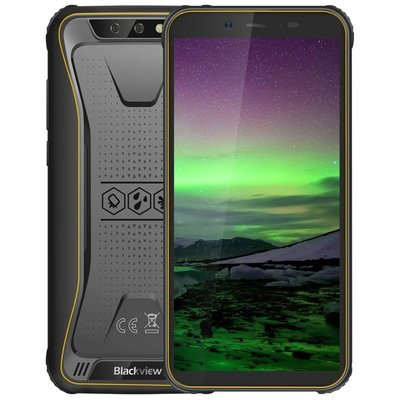 Blackview BV5500 Pro 5,5 inch Android 9.0 Quad Core 4400mAh 3GB/16GB Oranje