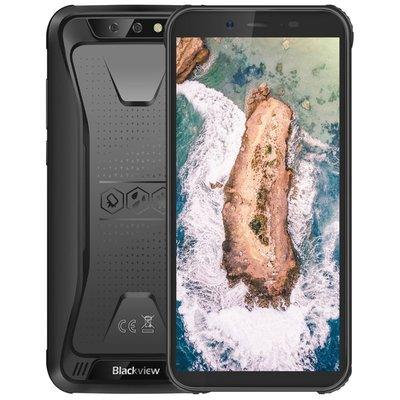 Blackview BV5500 Pro 5,5 inch Android 9.0 Quad Core 4400mAh 3GB/16GB Zwart