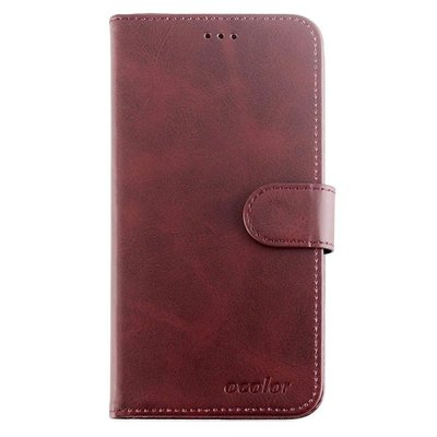 Bluboo D6 flip cover Rood