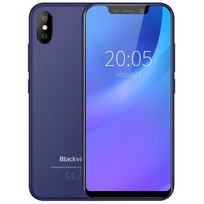 Blackview A30 5,5 inch Android 8.1 Quad Core 2500mAh 2GB/16GB Blauw