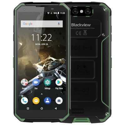 Blackview BV9500 Plus 5,7 inch Android 9.0 Octa Core 10000mAh 4GB/64GB Groen