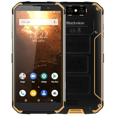 Blackview BV9500 Plus 5,7 inch Android 9.0 Octa Core 10000mAh 4GB/64GB Geel