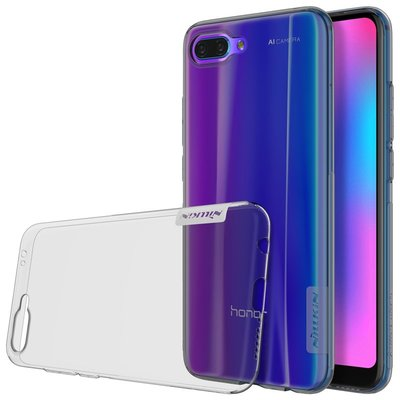 Honor 10 silicone case Grijs