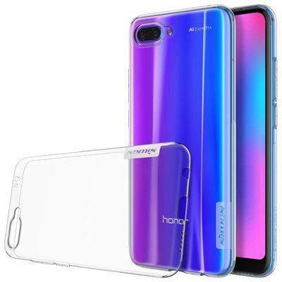 Honor 10 silicone case Transparant