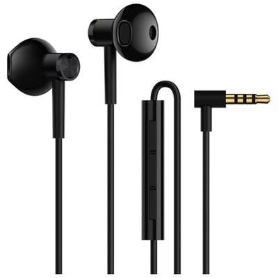 Xiaomi Mi Dual Drivers Earphones 3.5mm Jack Black
