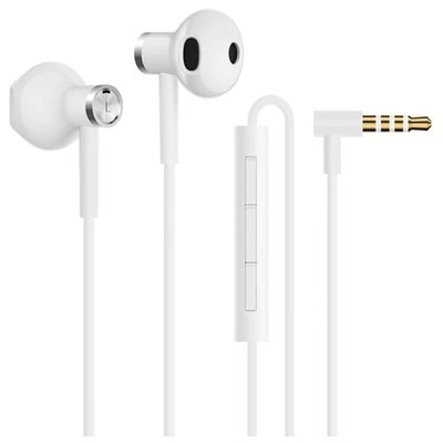 Xiaomi Mi Dual Drivers Earphones 3.5mm Jack White