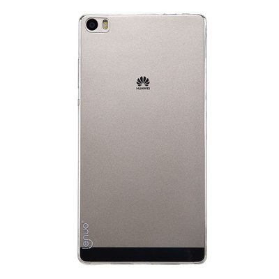 Huawei Ascend P8 Max silicone case Transparant