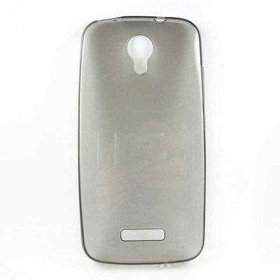 Doogee X3 silicone case Zwart