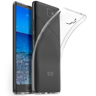 Elephone S8 silicone case Transparant