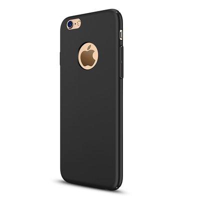 Apple iPhone 7 silicone case Zwart