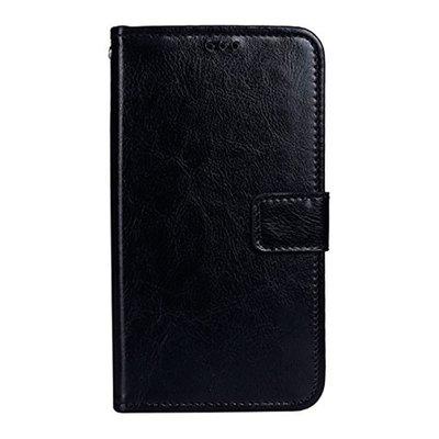 Bluboo S8 Plus flip cover Zwart