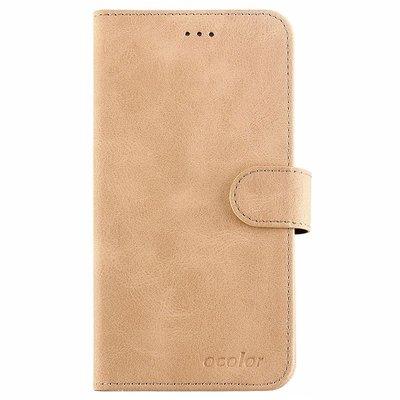 Elephone A4 flip cover Goud