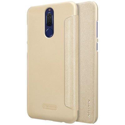 Huawei Mate 10 Lite flip cover Goud