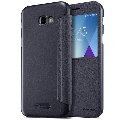 Samsung Galaxy A5 2017 flip cover Grijs