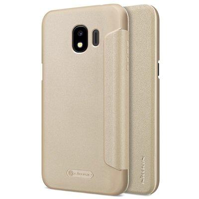 Samsung Galaxy J2 2018 / J2 Pro 2018 flip cover Goud