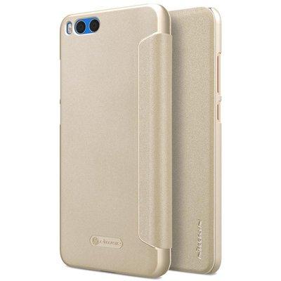 Xiaomi Mi Note 3 flip cover Goud