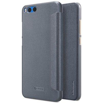 Xiaomi Mi Note 3 flip cover Grijs