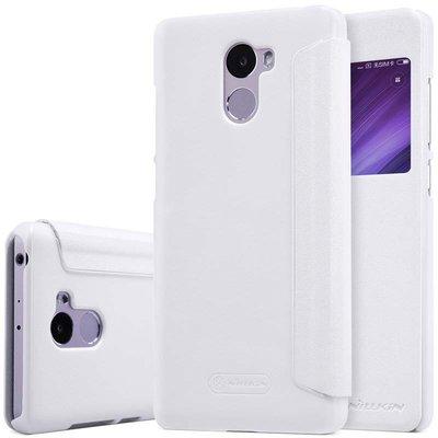 Xiaomi Redmi 4 flip cover Wit