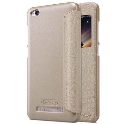 Xiaomi Redmi 4A flip cover Goud