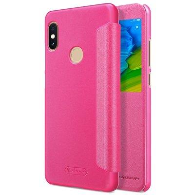Xiaomi Redmi Note 5 flip cover Roze