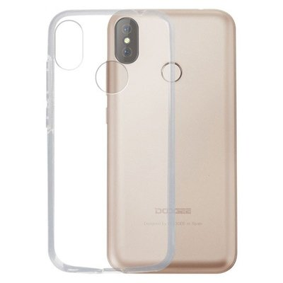 Doogee X70 silicone case Transparant