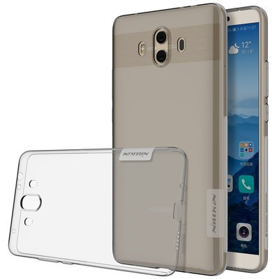 Huawei Mate 10 silicone case Grijs