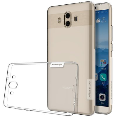 Huawei Mate 10 silicone case Transparant
