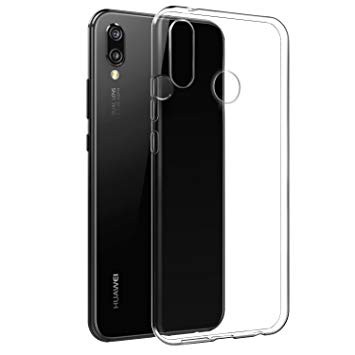 Huawei P20 Lite silicone case Transparant