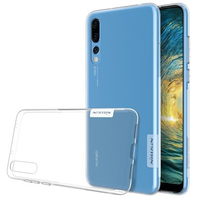 Huawei P20 Pro silicone case Transparant
