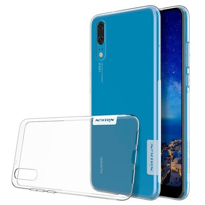 Huawei P20 silicone case Transparant