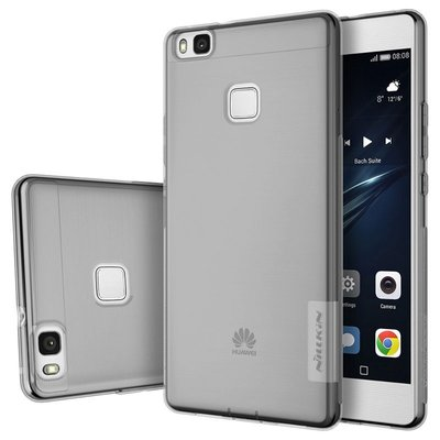 Huawei P9 Lite silicone case Grijs