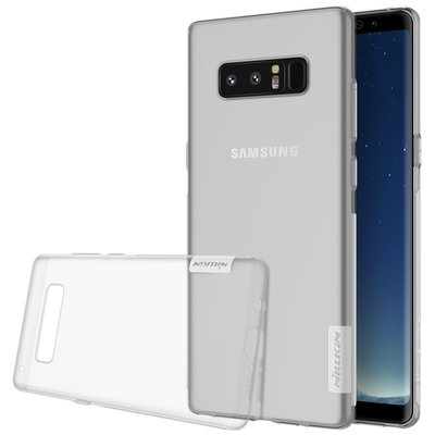 Samsung Galaxy Note 8 silicone case Transparant
