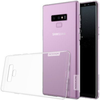 Samsung Galaxy Note 9 silicone case Transparant